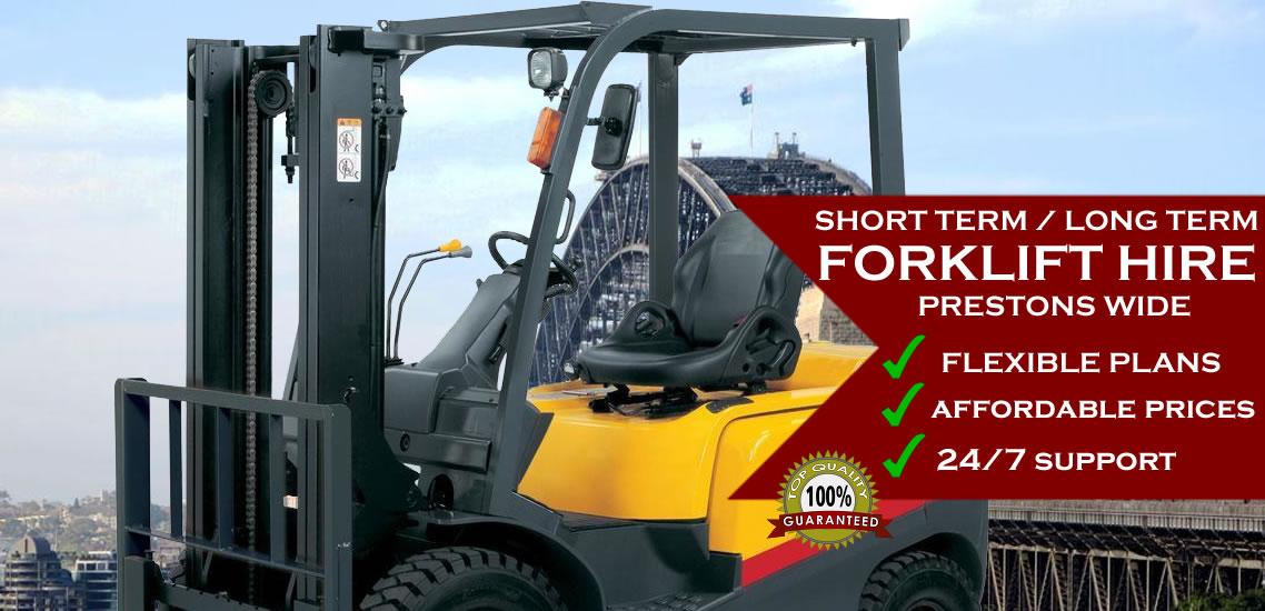 Forklift Hire Prestons