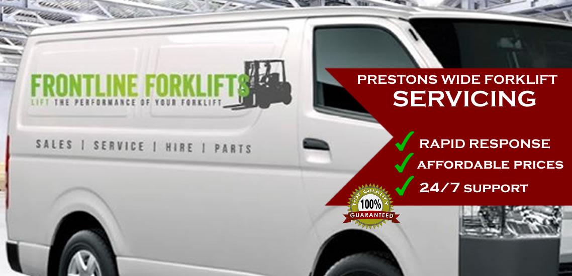 Forklift Servicing Prestons